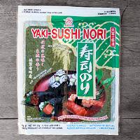 algue nori pour sushi