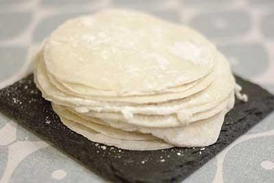 pâte à gyoza
