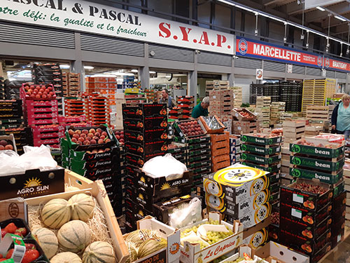 Cagettes de fruits et légumes d'été