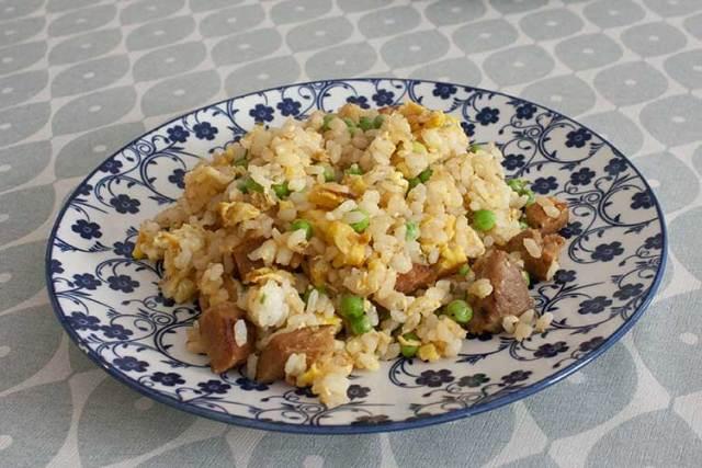 chahan, riz sauté japonais