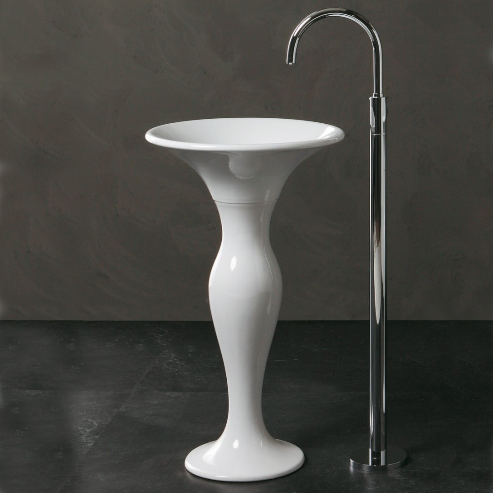 free standing round freestanding sink formosa olympia