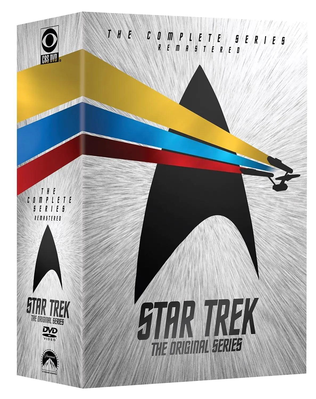 Star Trek La Srie Originale Remasterise Ide Cadeau