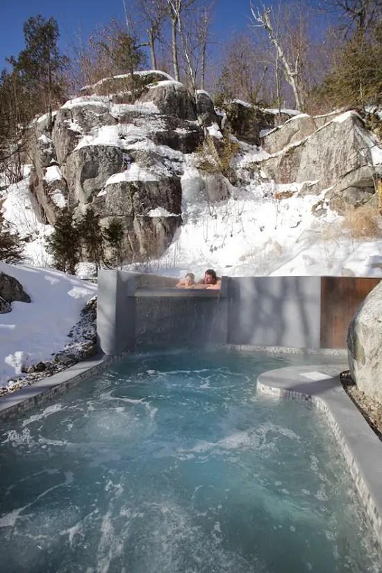 Spa La Source Bains Nordiques Ide Cadeau Qubec
