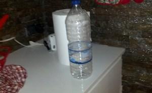bottiglia di plastica da riciclare