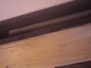 fare una finta piattabanda di legno