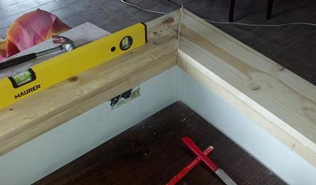 Costruire Un Piano Cucina In Legno : Fare una base d appoggio in legno per il piano cottura del gazebo