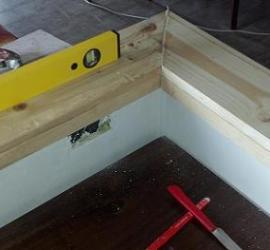 montaggio soglia legno fai da te