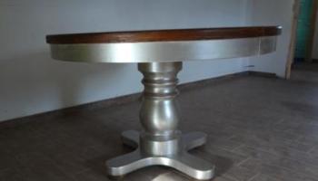 Rinnovare un vecchio sgabello di legno www.ideepercaso.it