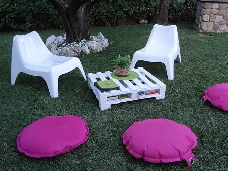 Fare un tavolo da giardino con un pallet di legno www - Ikea poltrone da giardino ...