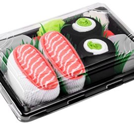 idea regalo calzini sushi