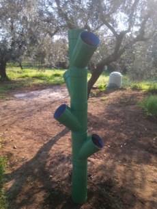 utilizzare tubi pvc per piantare