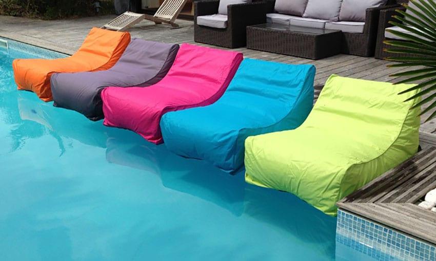 mobilier flottant piscine matelas