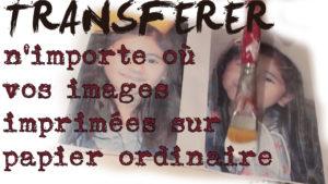 Cours gratuits TRANFERER IMAGE