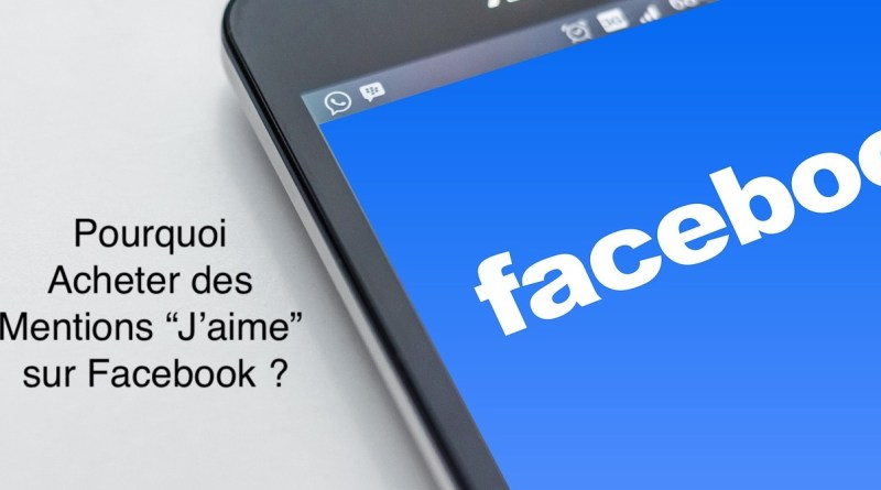 achat mentions jaime facebook
