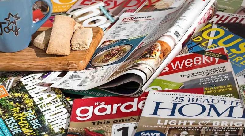publicité papier magazines