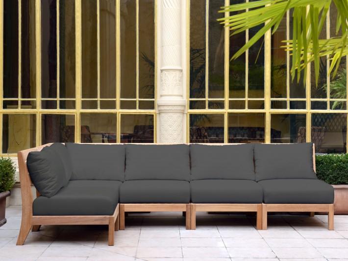 Mobilier De Jardin Design Tectona Canap Jardin Bois