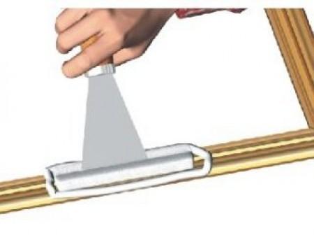 Reparer Une Moulure De Cadre Reparer Et Renover Ideesmaison Com