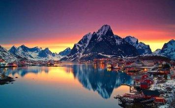 Spettacolari fiordi in Norvegia