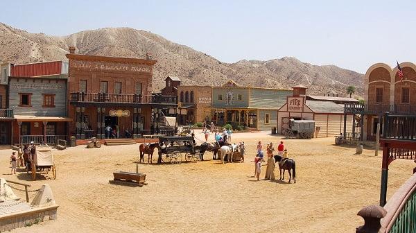 Il deserto di Tabernas, l'unico vero deserto in Europa, location di vari film western