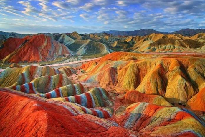 Parco Geologico di Zhangye Danxia, in Cina