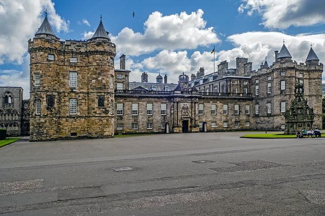 Palazzo di Holyrood, Edimburgo, Scozia