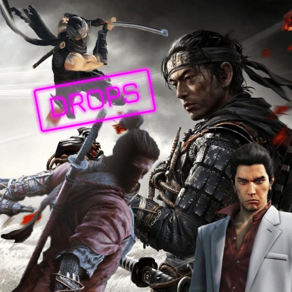 Drops Errado: Jogos Japoneses