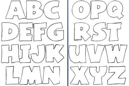 letras de abecedario para imprimir y recortar » Full HD Pictures [4K ...