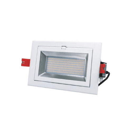 BROOKLYN - Spot LED rectangulaire orientable SMD 60W Ø215X125MM