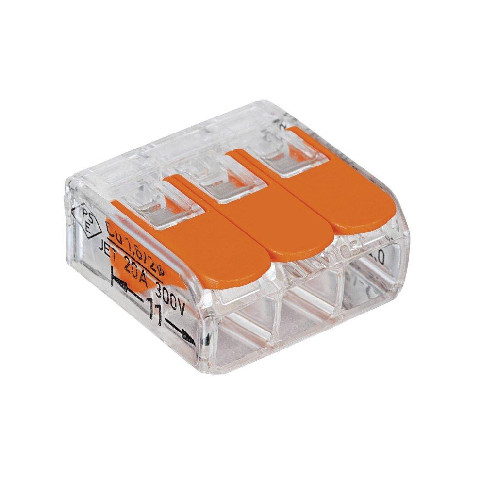Borne de raccordement WAGO 3conducteurs