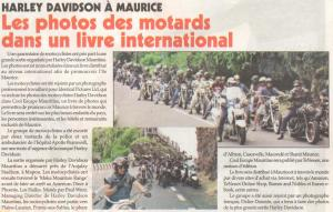 Harley Davidson in Le Defi Quotidien - 8.04.14