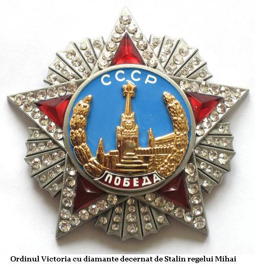 Decoratia-Sovietica-a-Regelui-Mihai-Ordinul-Victoria-cu-Diamante-de-la-Stalin
