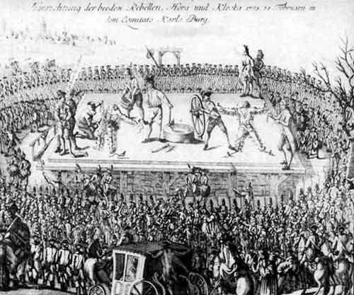Torturile inimaginabile trebuiau sa-i sature pe romani de setea de libertate
