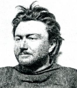 Emil Racoviţă la bordul navei Belgica la sfârșitul iernii polare