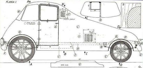 Aurel Perşu a refuzat ofertele General Motor şi Ford din cauză că giganţii americani nu voiau să construiasă maşina în serie