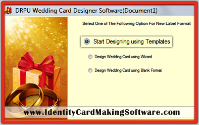 Wedding Card Making Software
