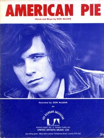 Image result for don mclean american pie