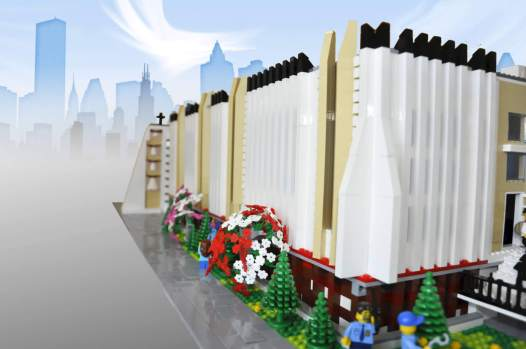 Lego architecture of Church
