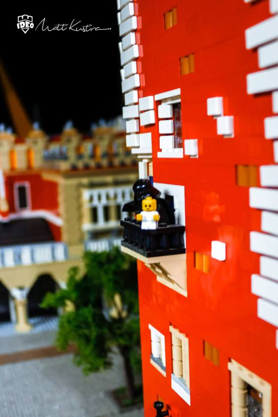 LEGO krakow - Model of lego blocks to order by Matt Kustra for Historyland Cracow