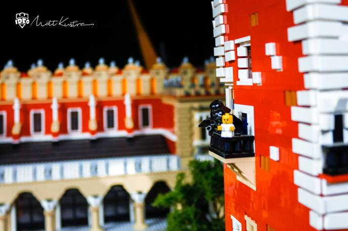 Cloths hall Krakow LEGO custom models for buissnes - by Matt Kustra for Historyland Cracow