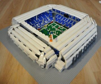 LEGO model shop for olders, Town Stadium in Poznan by Matt Kustra bricks