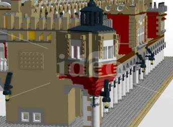 Cracow Cloth Hall LEGO moc