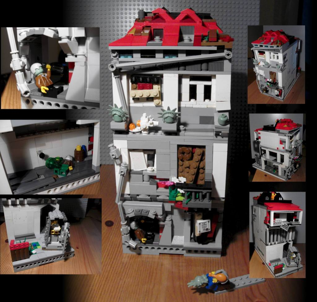 Custom lego city forbidden lego building ideas for adults
