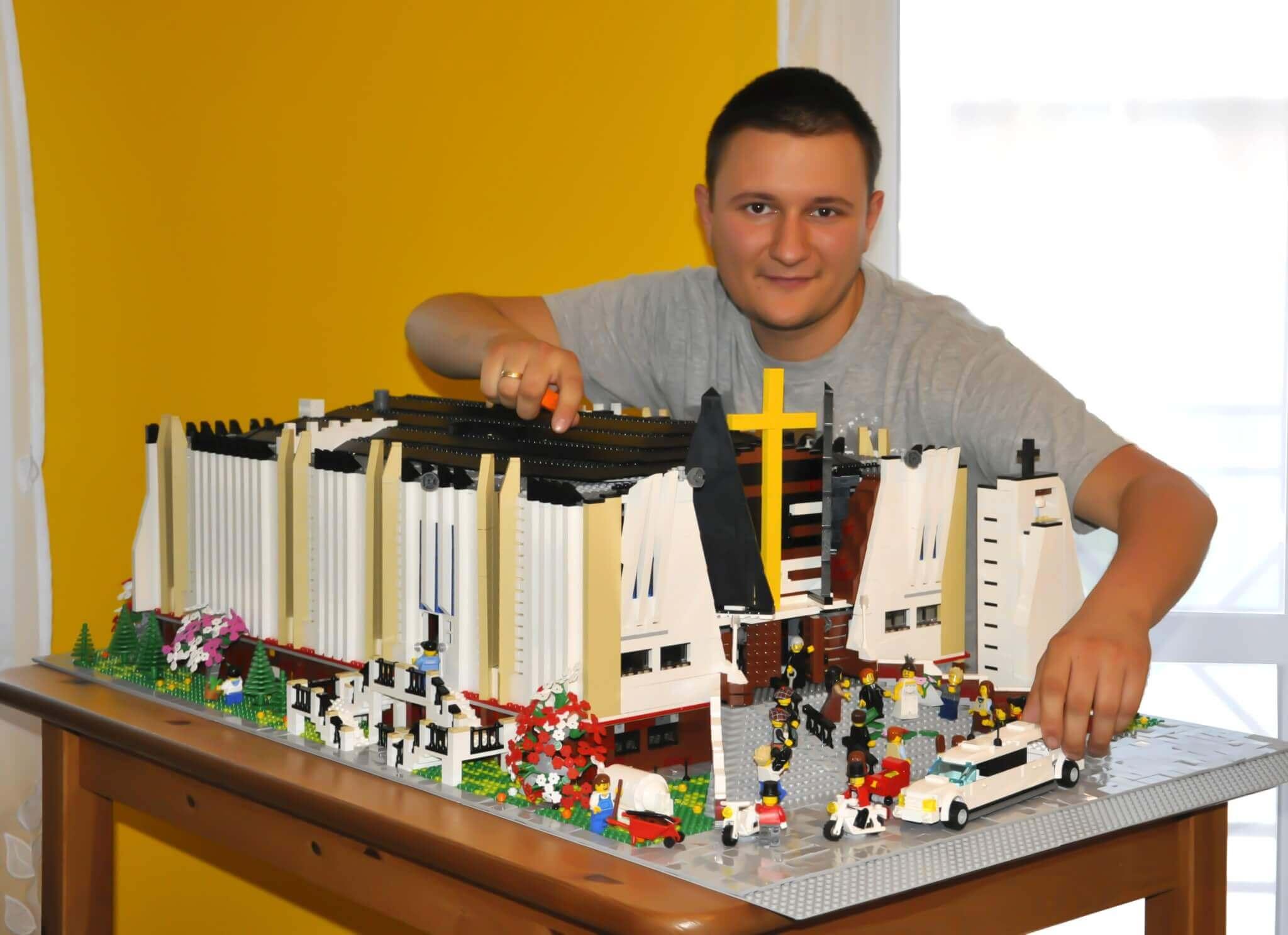 Lego Kościół Ideo Bricks Order Your Custom Lego Moc Modelbuild By