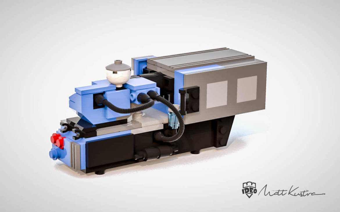 molding machine professional lego builder Matt Kustra
