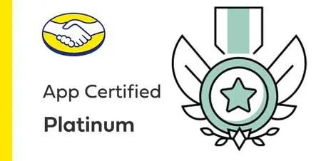 App certificado Platinum