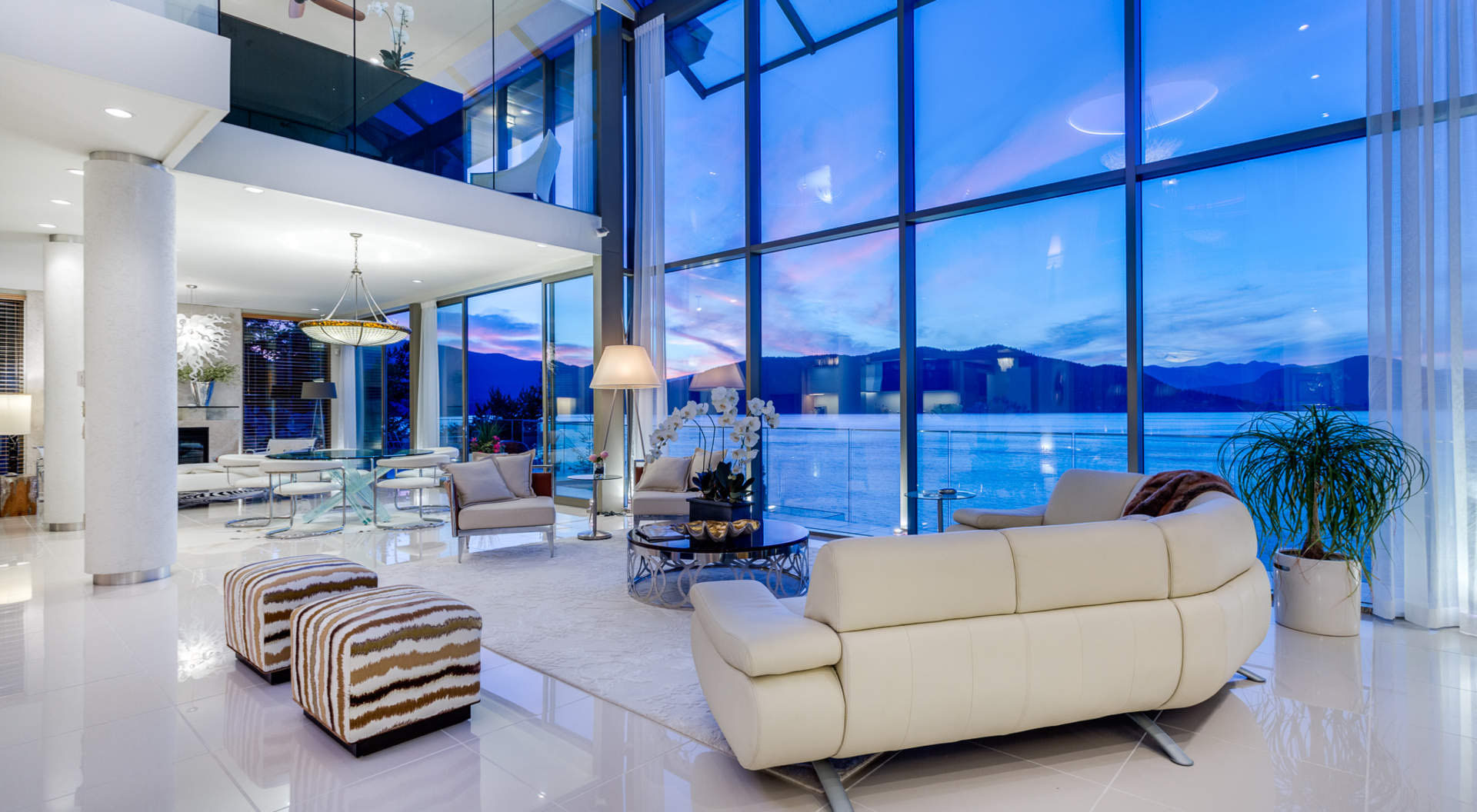 Exquisite Contemporary Waterfront Home With Dramatic Coastal Views IDesignArch Interior