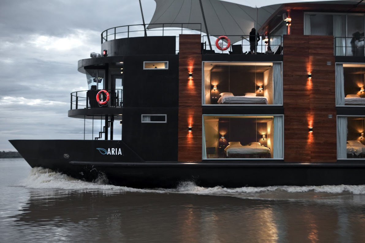 Amazon Riverboats Floating Luxury Hotel IDesignArch