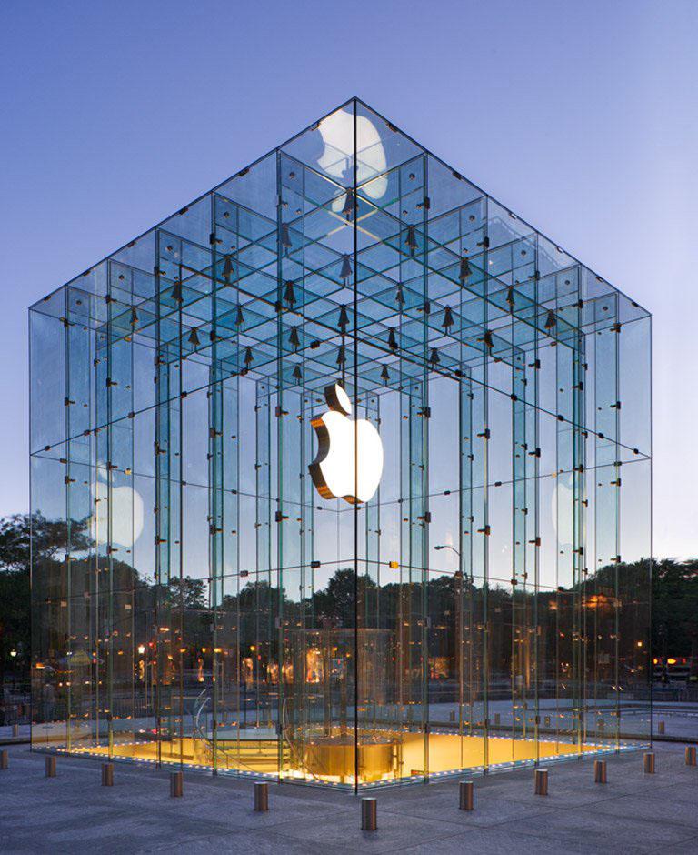 9f7c7f7d14 Loja da Apple é enfeitada com belos cubos luminosos – Comentários de ...