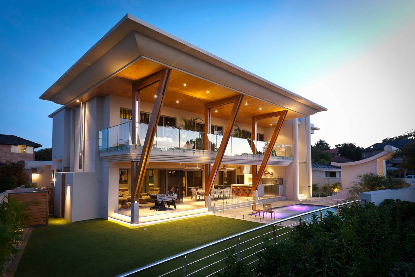 Ultra Modern Home In Perth With Large Roof IDesignArch Interior Design Architecture