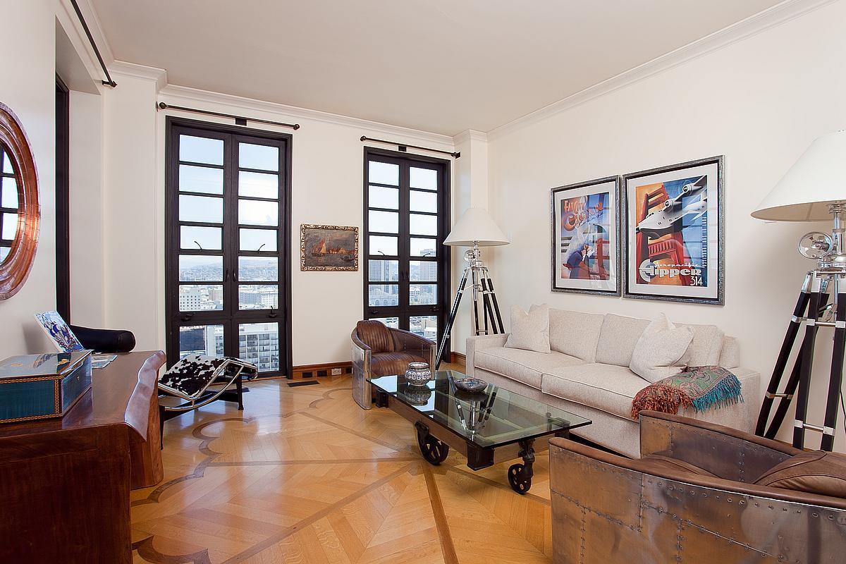 Exquisite Penthouse Atop The Art Deco Hamilton Building In